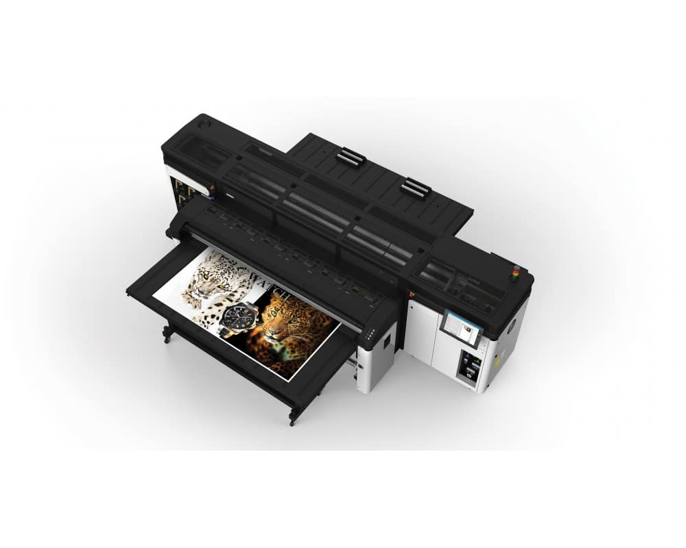 HP Latex R2000 - L'impression à plat souple et rigide encore plus large !